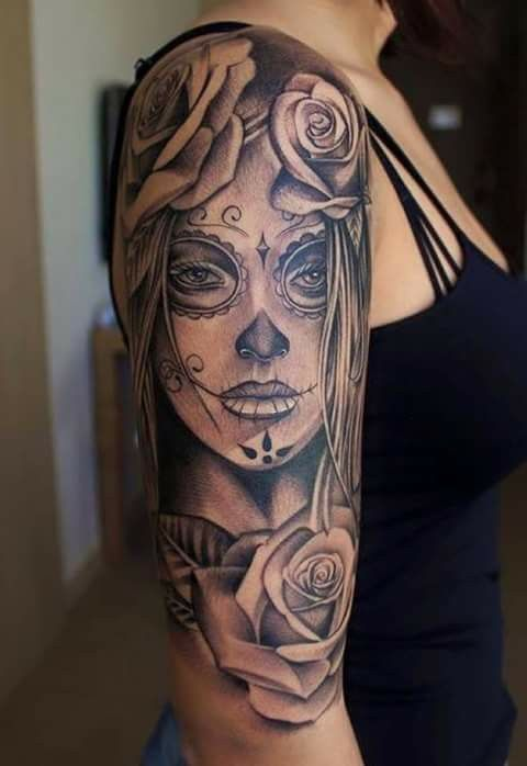 Pin By Kadyn Grace On Tattoo S Tattoos Skull Tattoos Sleeve Tattoos