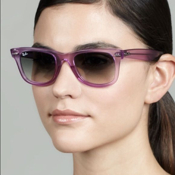 4c95d40c3387 RAY BAN Ice-Pop Wayfarer Sunglasses 100% authentic Ray Ban sunglasses in  the ice pop strawberry color. Ray-Ban took the iconic Wayfarer sunglasses  style and ...