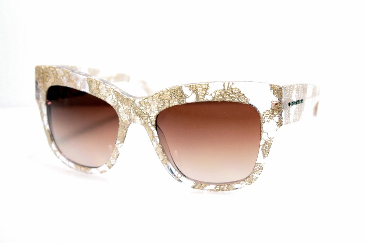 New Dolce Gabbana with gold Lace www.all4optics.com