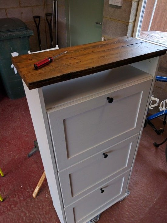 Upcycled Brusali Shoe Cabinet For The Home Shoe Cabinet Ikea