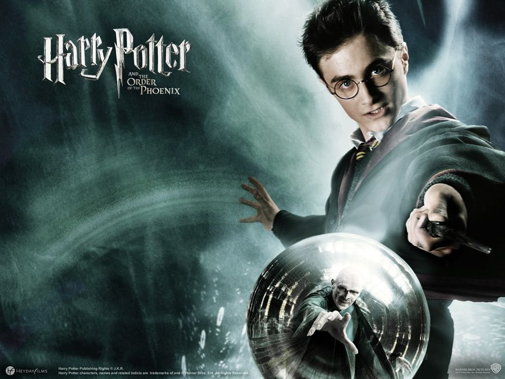 Harry Potter The Order Of The Phoenix Harry Potter Wallpaper Harry Potter Phoenix Wallpaper
