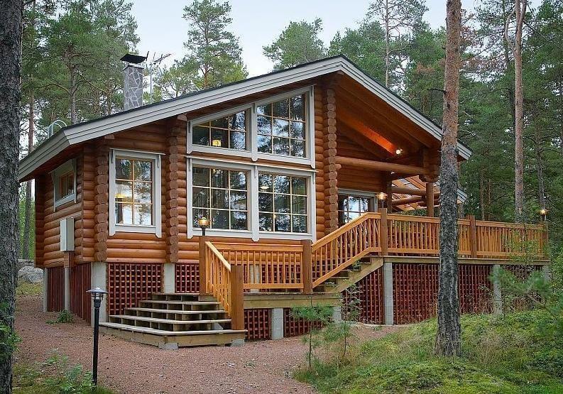 Doma Iz Kleennogo Brusa House Exterior Cabin Style Homes Cottage Style Homes