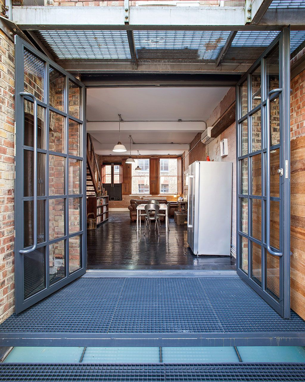 El estilo industrial es muy característico, tiene elementos que ...