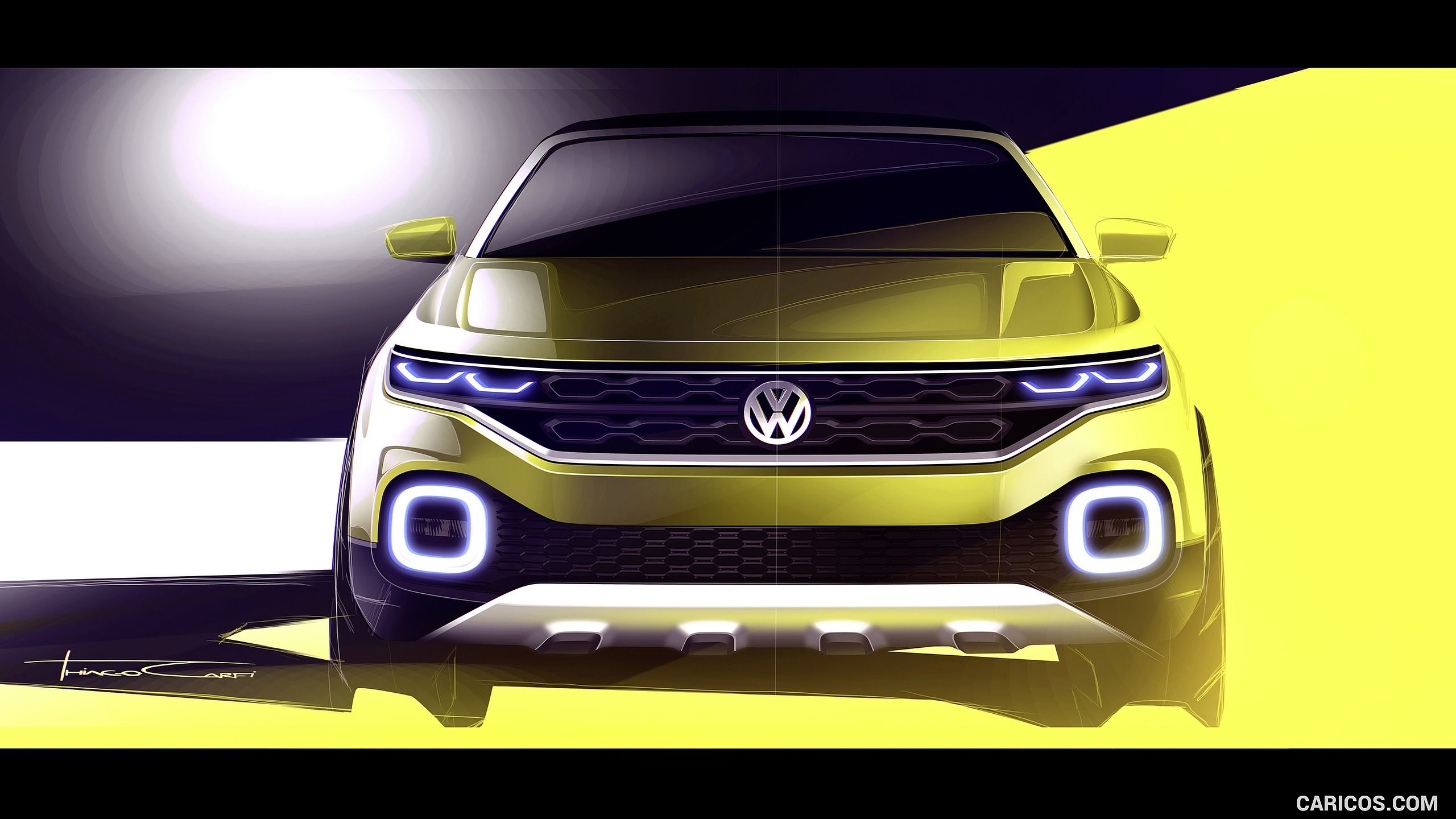 2016 Volkswagen T-Cross Breeze Concept Wallpaper