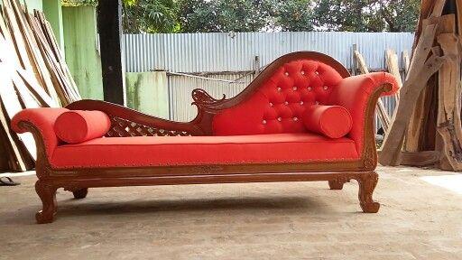 Sofa Kolonial sofa lois kolonial sofa lois kolonial dari bahan kayu mahoni dengan