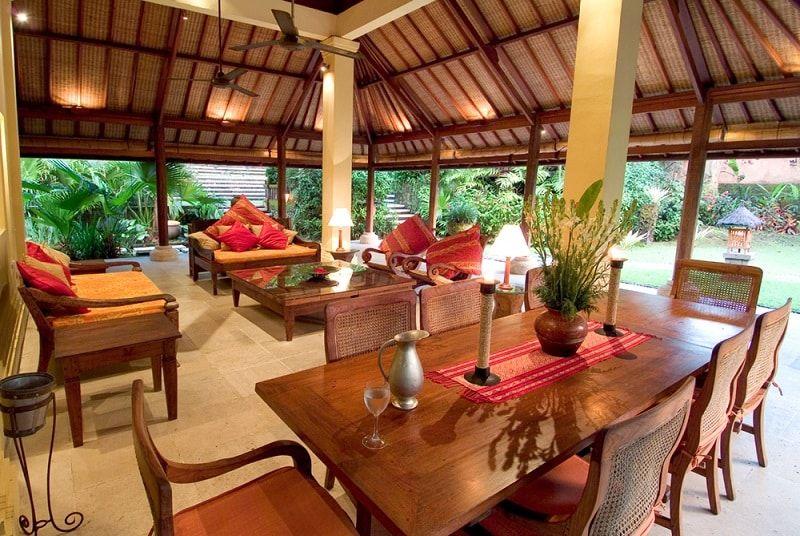 Villa De Luxe Interieur intérieur d'une villa de luxe à bali: vie tropicale #balistyle
