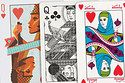 Bored with the same old white Kings & Queens? Mix it up with these beautifully diverse decks of cards.