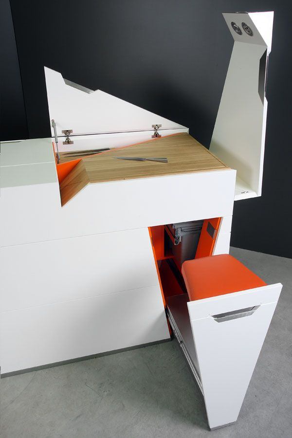 Super Space Saving Furniture By Boxetti | Super Space Saving | Pinterest |  Kitchen Unit, Spaces And Kitchens