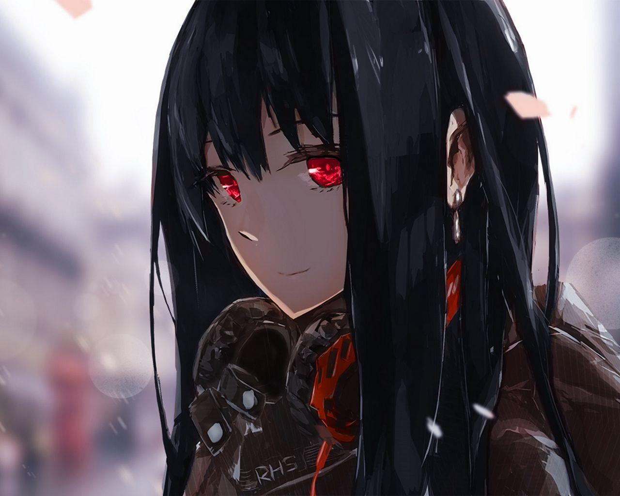 Pin by CashieLazuka on anime  Anime blue hair, Anime black hair