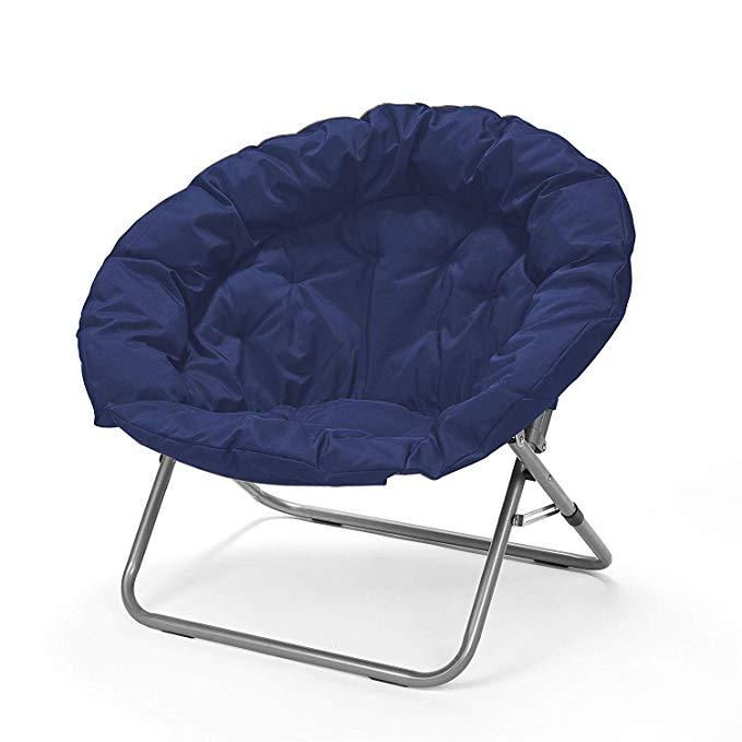 Urban Shop Oversized Saucer Chair, teal Home