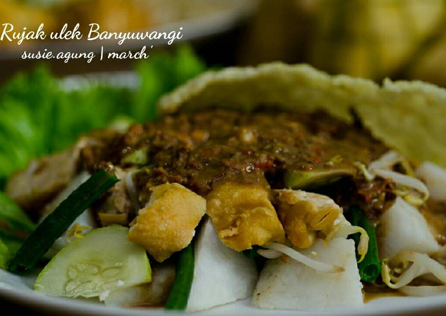 Resep Rujak Ulek Khas Banyuwangi Oleh Susi Agung Resep Makan Siang Makanan Resep