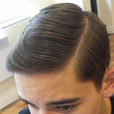 افضل تسريحات شعر للرجال 2014 السليكد لوك تسريحات للرجال Slick Hairstyles Brylcreem Hairstyles Hair Styles