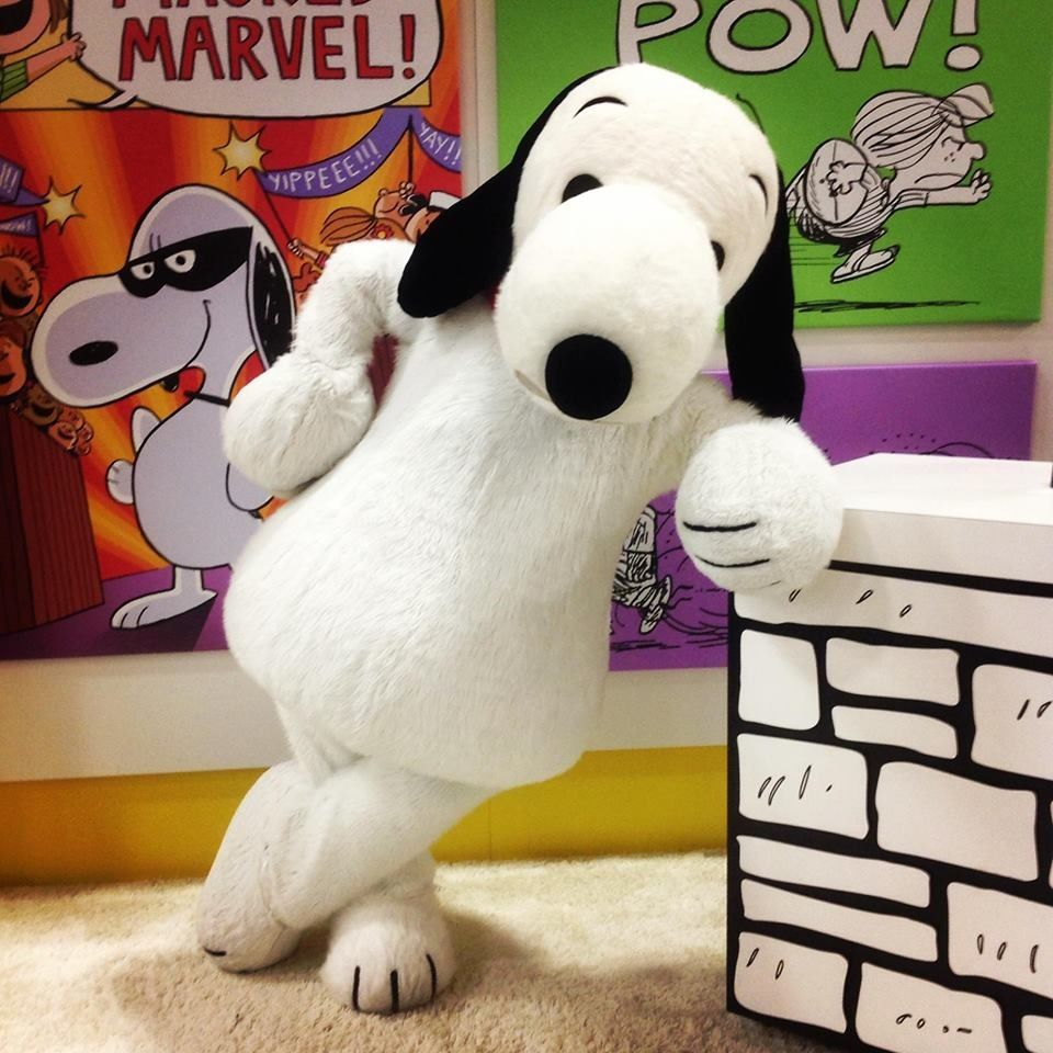 Snoopy at Comic-Con in San Diego