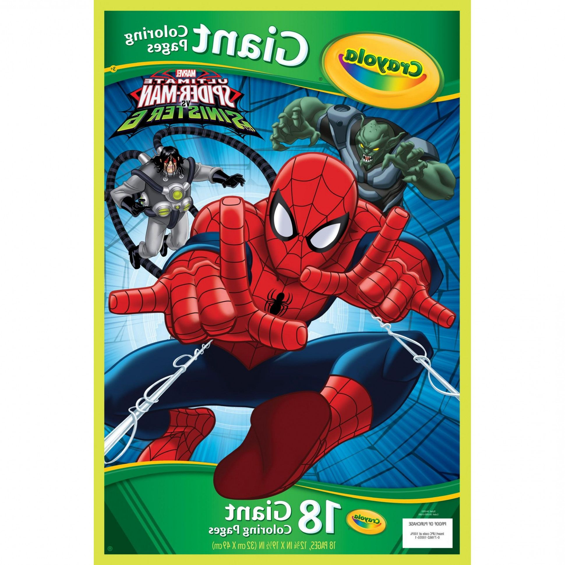 15 Fantastic Vacation Ideas For Spiderman Coloring Book Walmart Coloring Spiderman Coloring Crayola Coloring Pages Coloring Pages