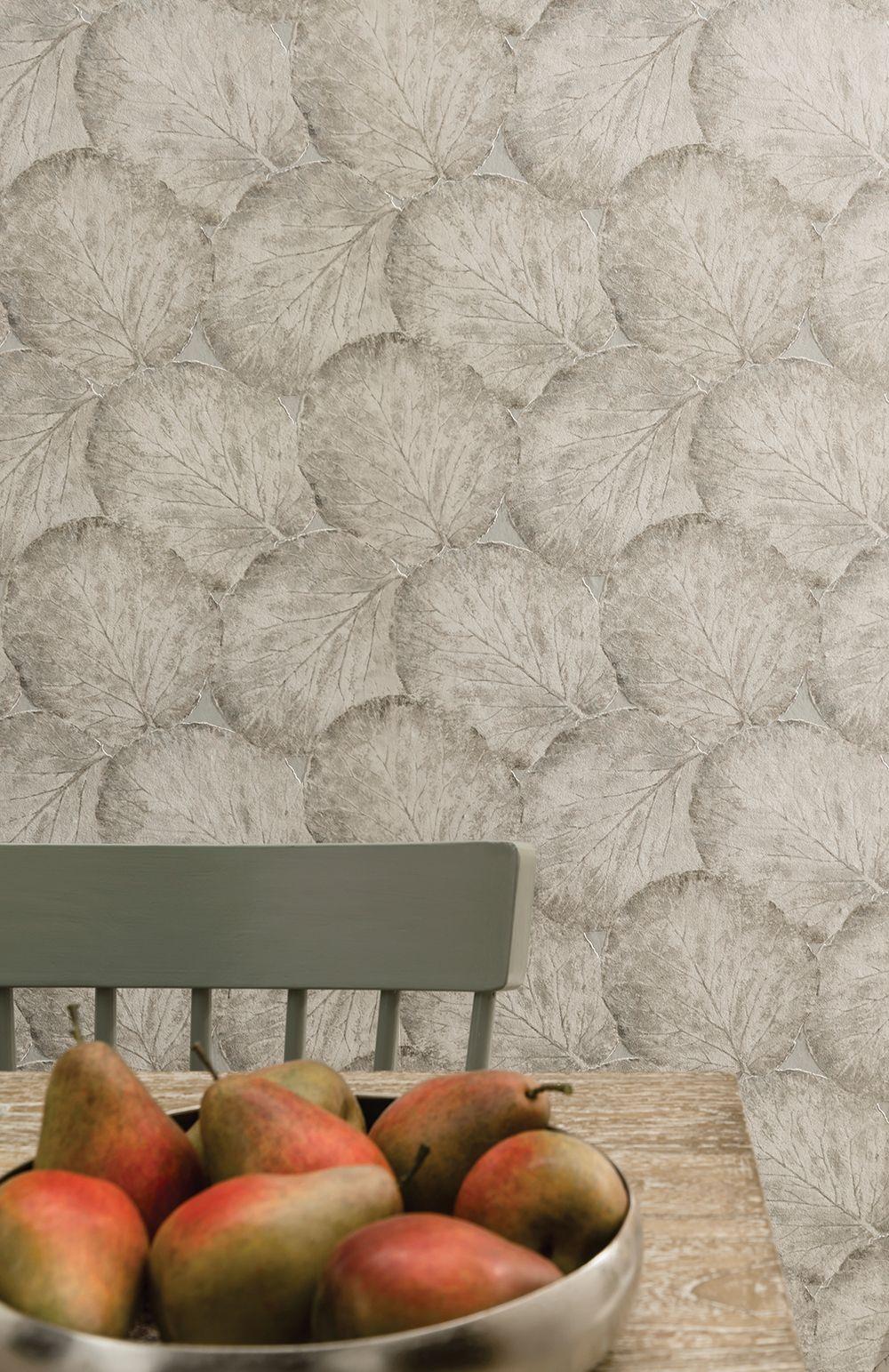 Beech Leaf Sage Green - Arthouse | Sage green wallpaper ...