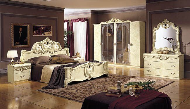 Baroque Bedroom Furniture | Italian Bedroom Furniture And Bedroom Sets Beds  Wardrobes Dressing .