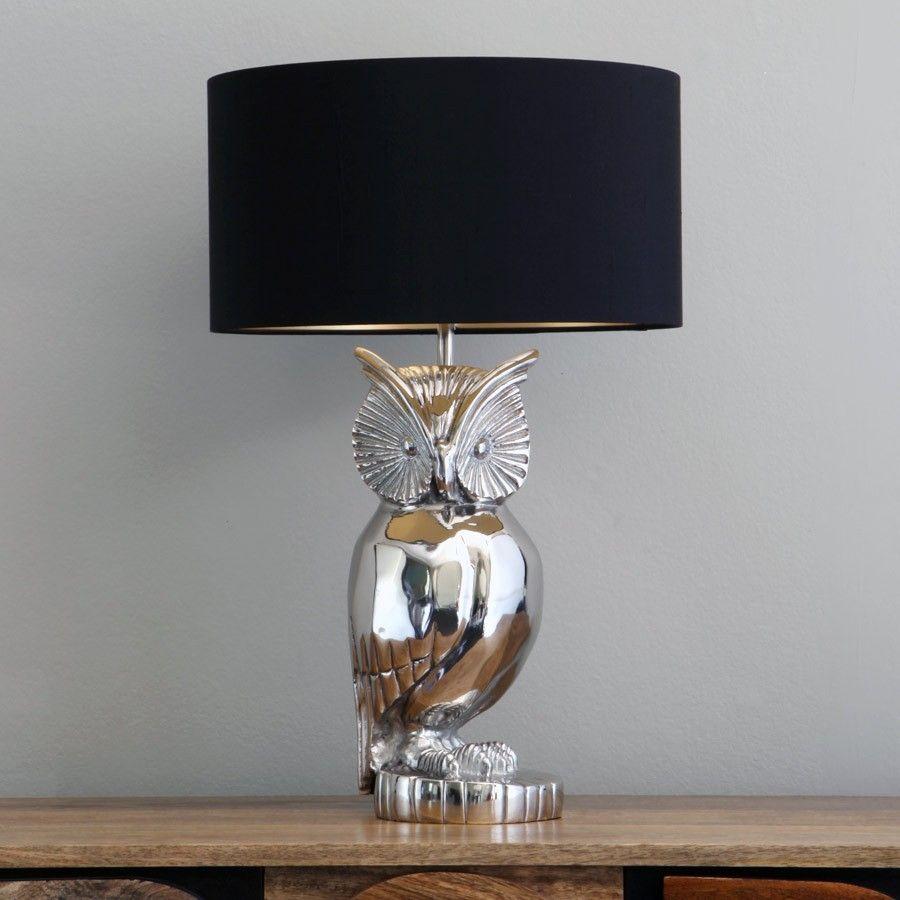 Via MyOwlBarn - The Fraser Owl Lamp Base