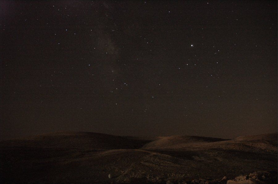 Desert Night Landscape Night Landscape Deserts Night