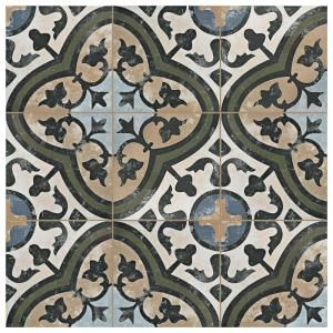 Merola Tile Evoque Carthusian 9 3 4 In X 9 3 4 In Porcelain Floor And Wall Tile 10 76 Sq Ft Case Fcd10evc At The Porcelain Flooring Flooring Elitetile