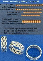 20 sencillos tutoriales de bricolaje paso a paso para un anillo ift.tt/2Q4gRlr
