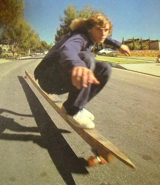 Another time, another shape. Old school longboarding. #obss
