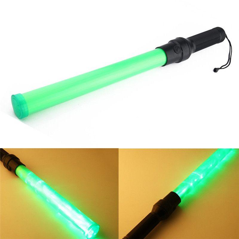 Traffic Safety 3 Modes Traffic Baton Light Fluorescent Sticks