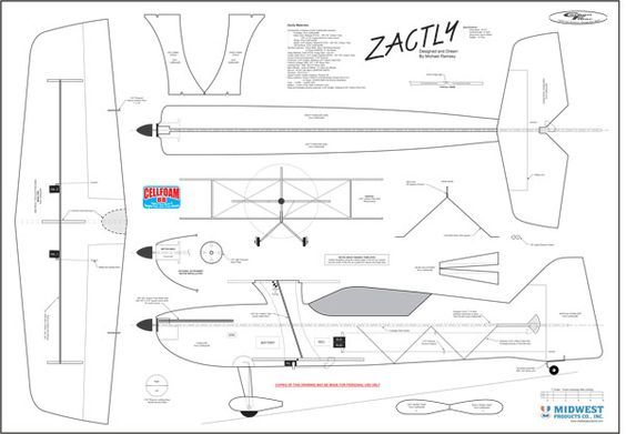 indoor rc plane plans