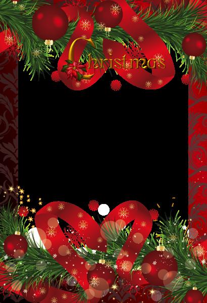 christmas frames | Gallery Holidays Frames Red Christmas Frame ...