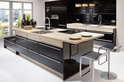 cocinas-en-isla-las-palmas-nobilia | cocina | Glossy kitchen ...