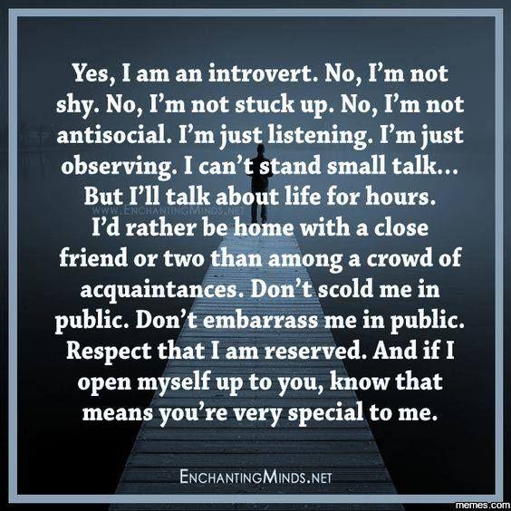 foto van Introvert Problems.
