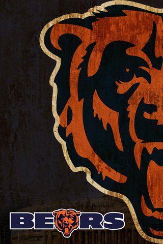 Chicago Bears Chicago Bears Wallpaper Chicago Bears Logo Chicago Bears