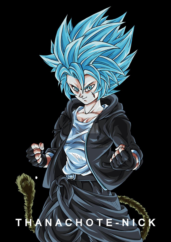 Oc Kari Super Saiyan Blue Dbxv2 Color By Thanachote Nick Dragon Ball Super Art Anime Dragon Ball Super Dragon Ball