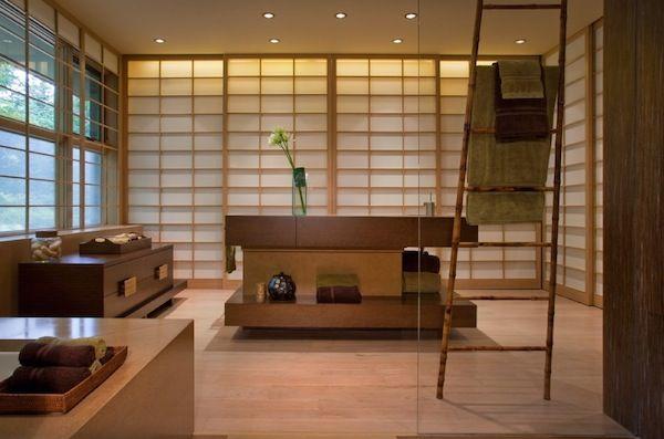 Originelle Einrichtungsideen im Bad u2013 wie Sie Ihre Badetücher mit - badezimmer bambus