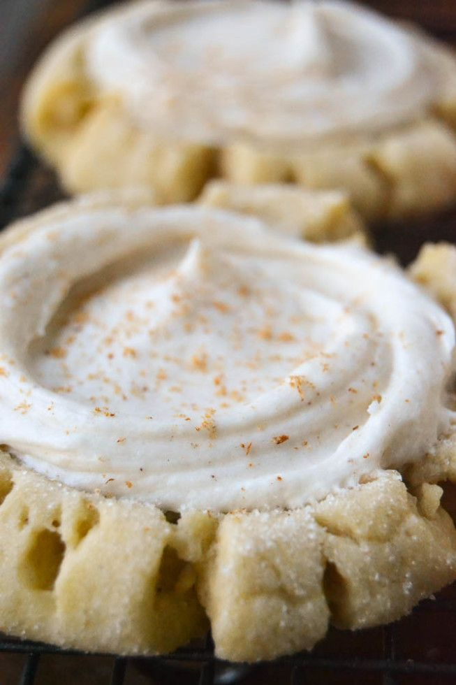 Ginger Spiced Sugar Cookies (Swig Copycat) #sugarcookies
