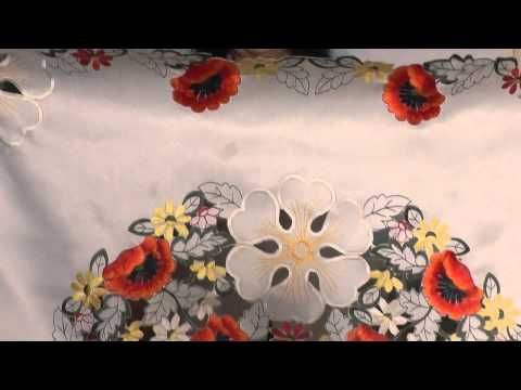 Blog. Моя коллекция скатертей с вышивкой. Видео проект Милены Кузнецовой…