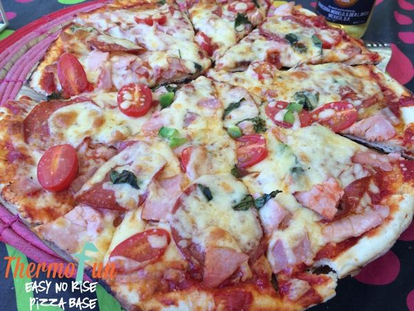 Thermomix pizza no rise