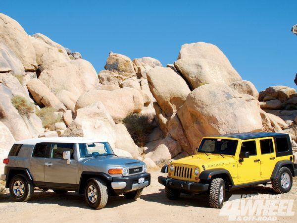 Toyota Fj Jeep Wrangler Jk Deathmatch Animales