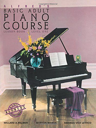 Alfred S Basic Adult Piano Course Lesson Book Level One Piano