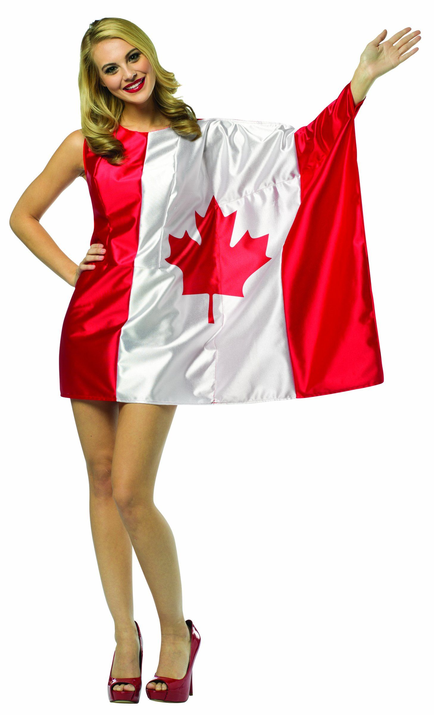 Rasta Imposta Flag Dress Canada Red/White Adult 410