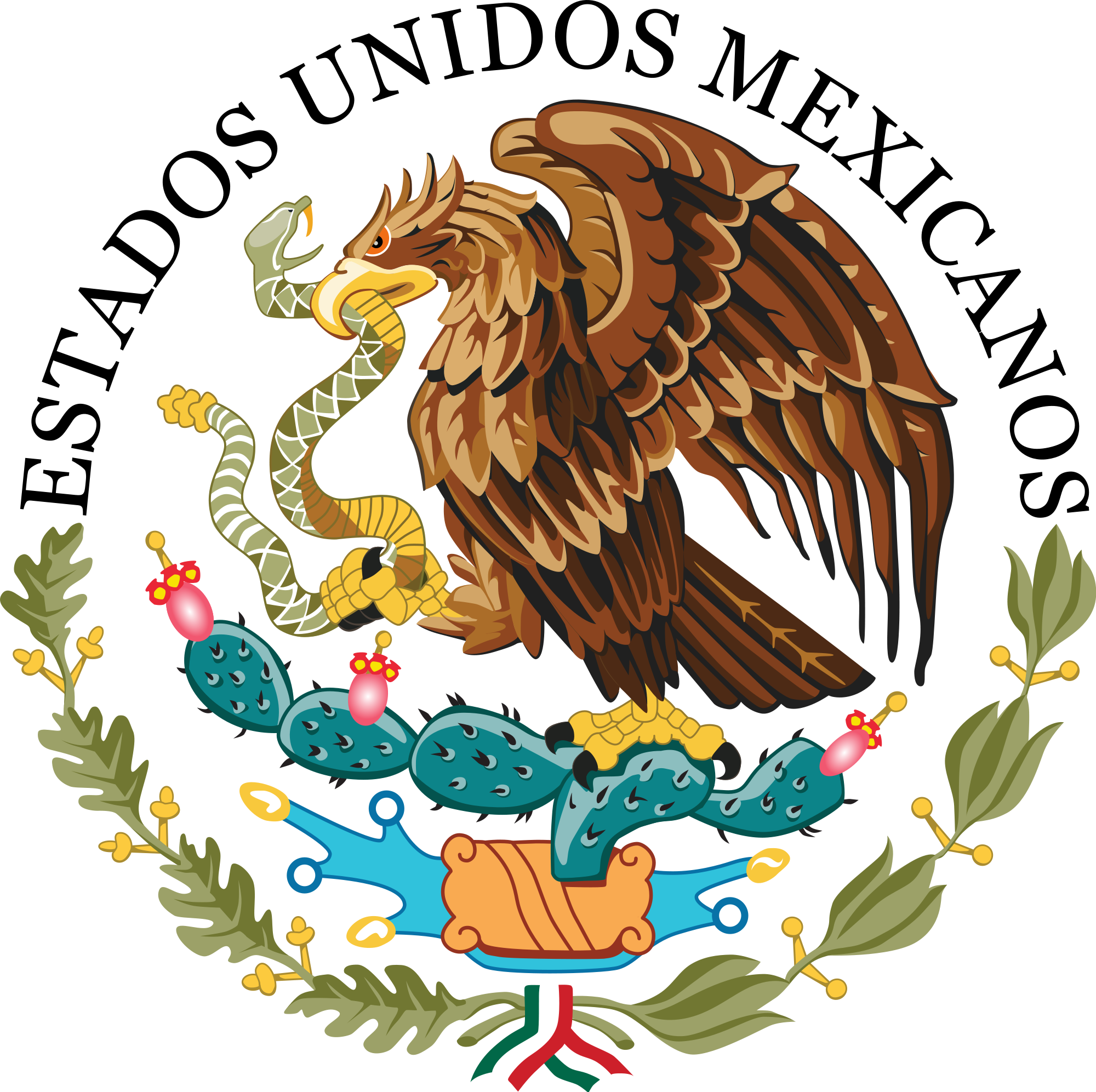 Government of Mexico Coats of Arms Mexican flag eagle