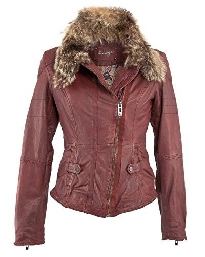 dc2690e86f60d Chaqueta de cuero roja  chaquetasdecuero  chaquetasmujer  cuero  moda  mujer   cazadoras  shopping  outfits  fashion  style  otoño  invierno   chaquetaroja   ...