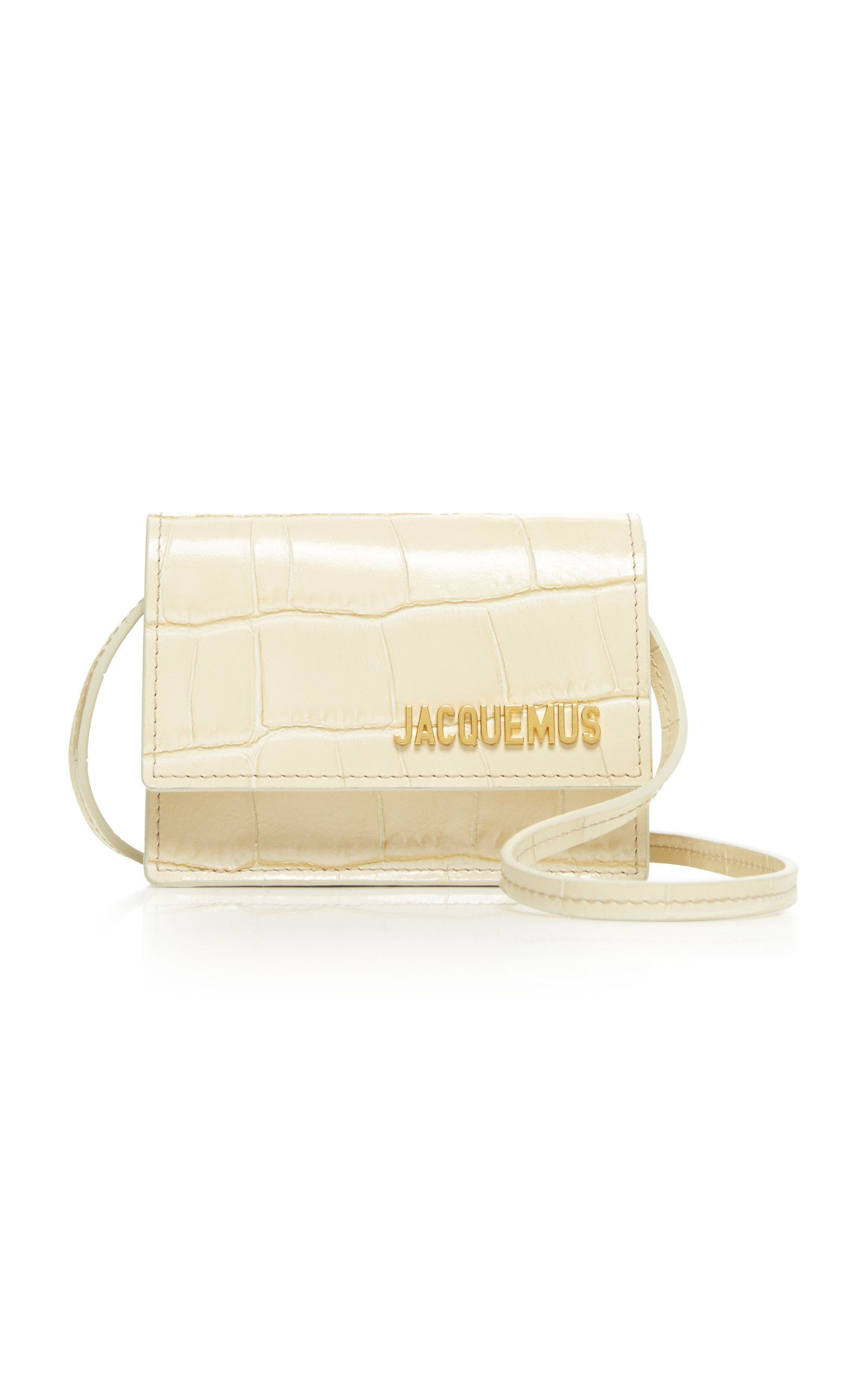 499bd577c77 Le Bello Embossed Leather Bag by JACQUEMUS for Preorder on Moda Operandi