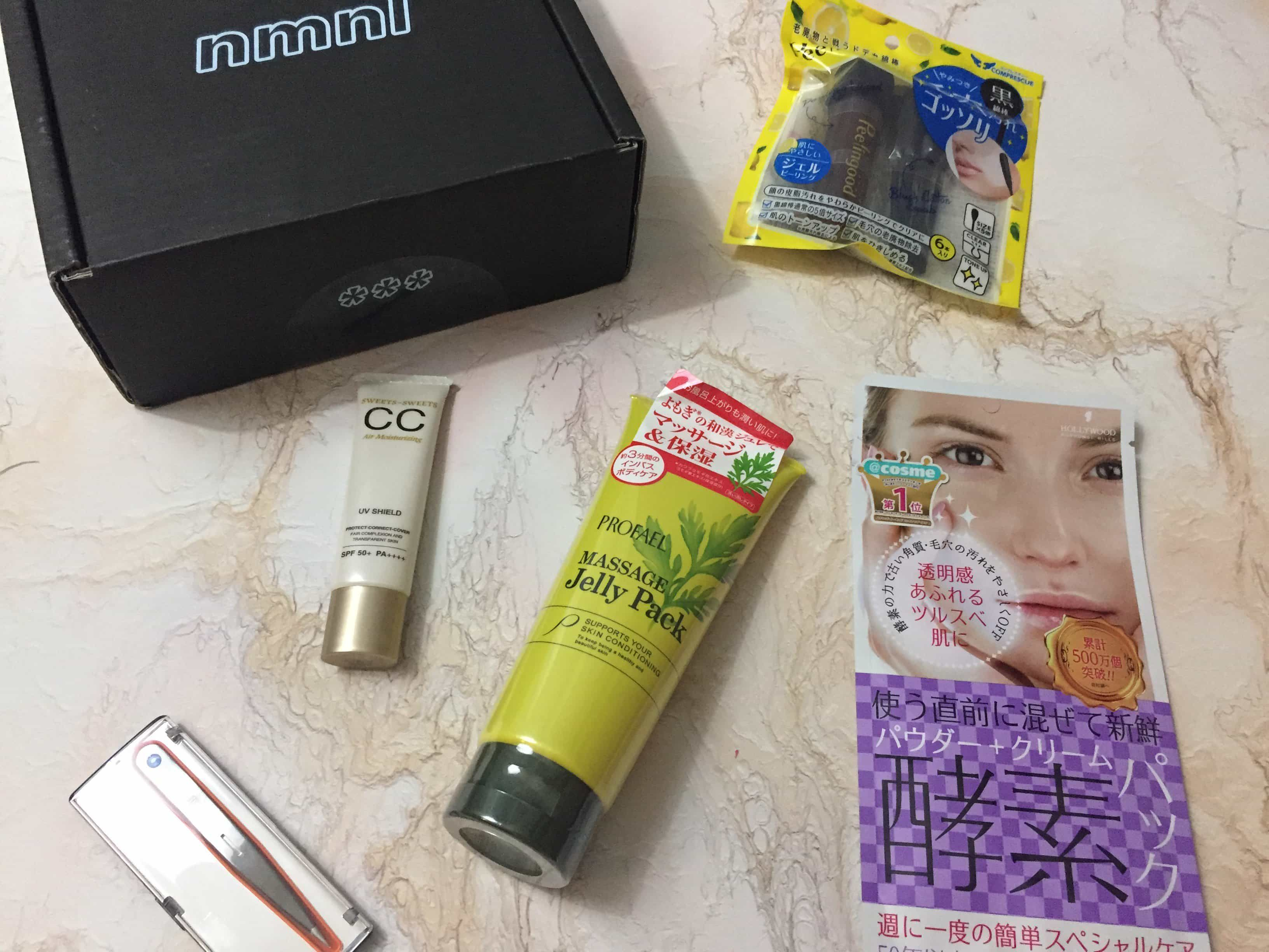 Nmnl   Subscription boxes, Japanese beauty, Coupons