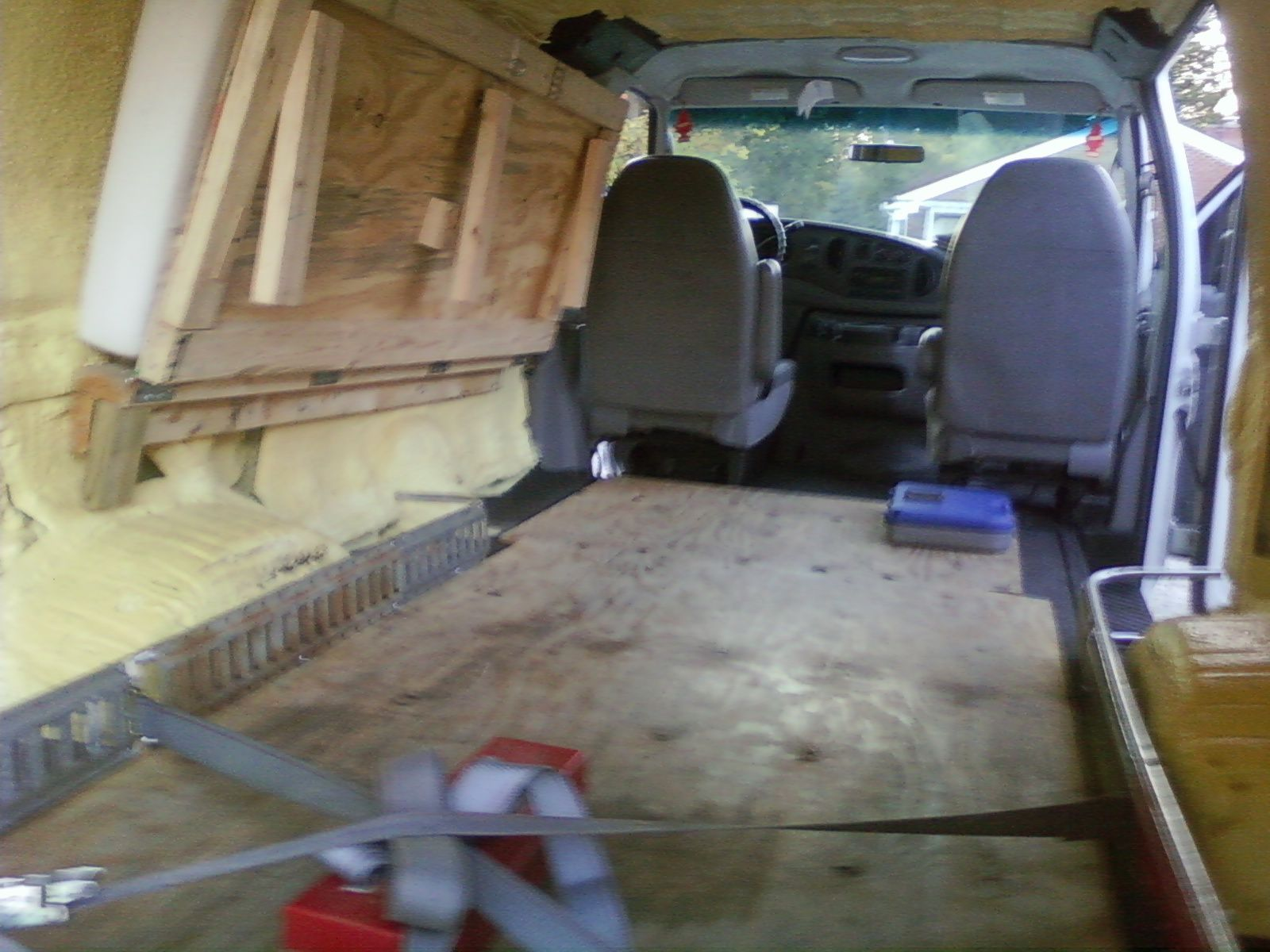 Bradley s writing and tutoring blog suggested gear for expediters cargo van pictures