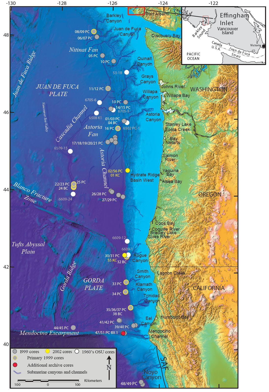 most likely location for a cascadia quake - Google Search