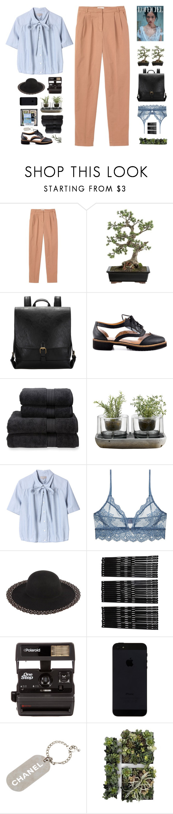 """"""" Would you love me if I'm guilty? """" by centurythe ❤ liked on Polyvore featuring Toast, Crate and Barrel, Kelsi Dagger Brooklyn, Christy, Nude, Margaret Howell, Only Hearts, Monki, Polaroid and Chanel"""