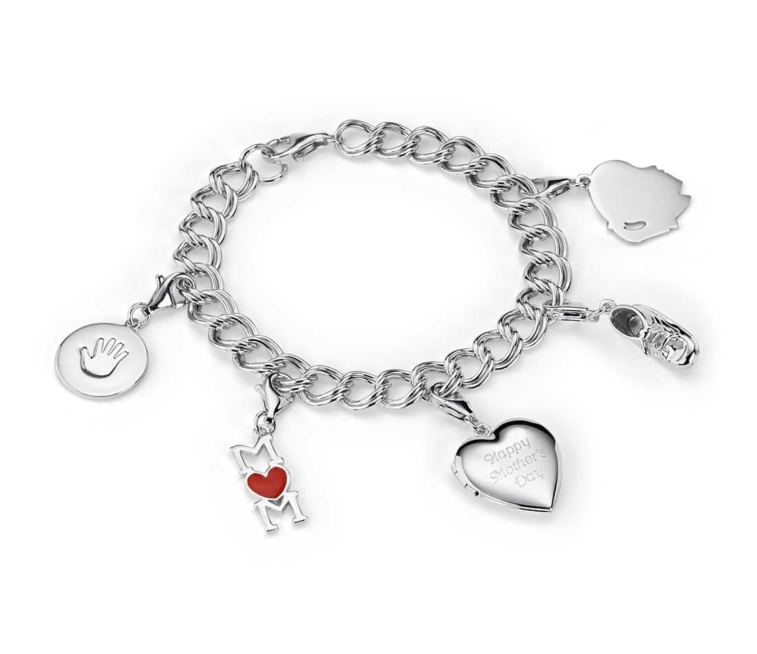 Blue Nile Sweetheart Locket Bracelet in Sterling Silver hae6rdlDGA