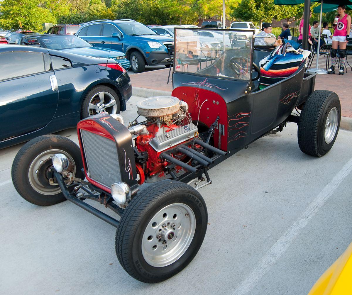 T-Bucket - Coffee & Cars - Houston, July 2012