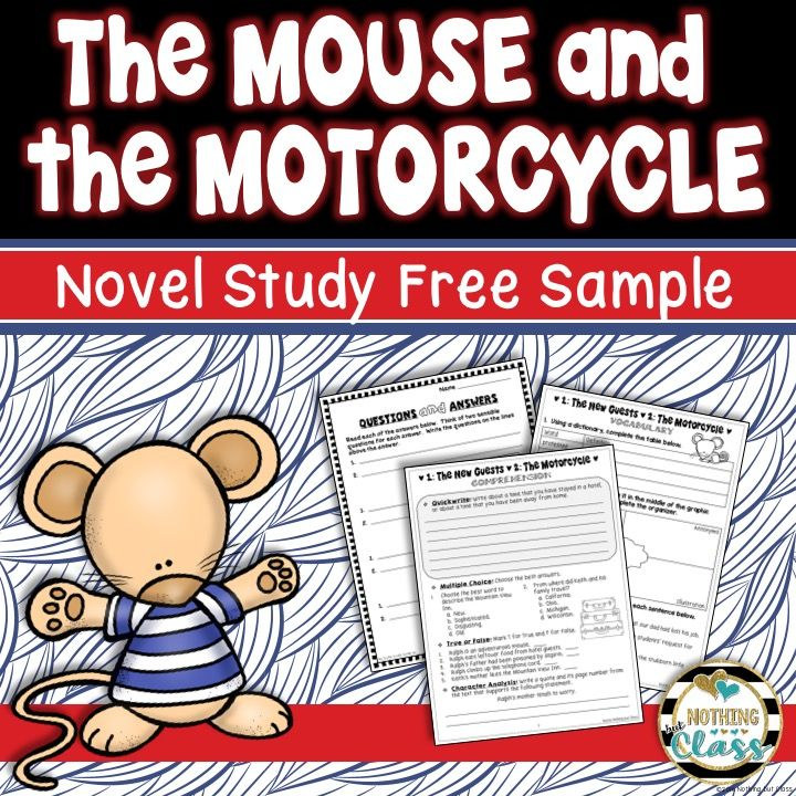 This is a 7 page FREE sample of my Common Core aligned novel study ...