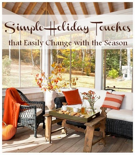 Simple Ways To Decorate Your Home For The Holidays